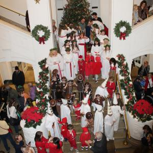Lucia Celebrations at the American Swedish Historical Museum