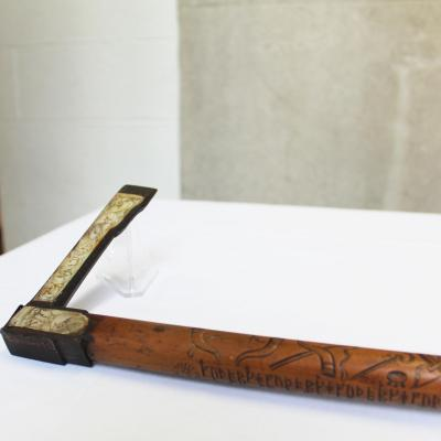 American Swedish Historical Museum Cane Axe